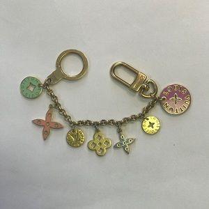 Louis Vuitton Looping Key Chain Bag Charm